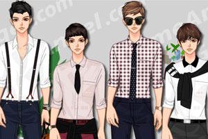 《韩版时尚衬衫》游戏画面1