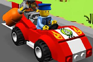 《乐高巡警找轮胎》游戏画面1