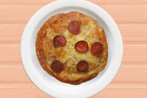 制作面包披萨