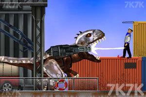 《霸王龙大战食人鲨》游戏画面4