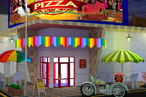 《逃离神秘的披萨店》游戏画面1
