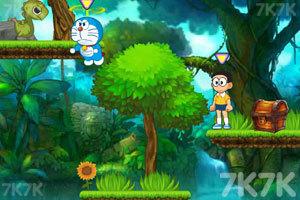 《哆啦A梦2奇迹之岛无敌版》游戏画面3