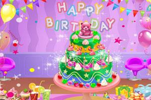婴儿生日蛋糕