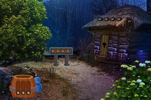 《逃离狮子雕像洞穴》游戏画面1