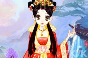 《森迪公主的古代打扮》游戏画面1
