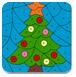 圣誕樹的填色