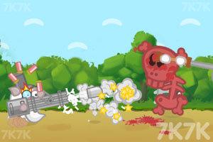 《豪猪战地鼠》游戏画面1