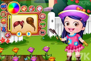 《可爱宝贝当园丁》游戏画面2