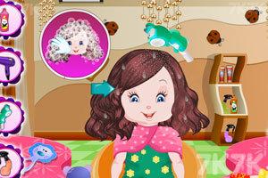 《宝贝丽丝一家新发型》游戏画面5