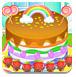 彩虹蛋糕的制作