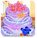 芭比海洋婚礼蛋糕