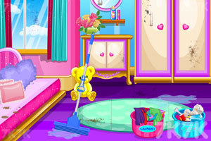 《娃娃屋清洁》游戏画面3