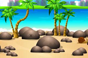 《蜗牛逃离荒岛》游戏画面1