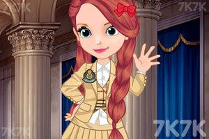 《索菲亚小公主开学了》游戏画面2
