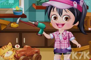 《可爱宝贝当木匠》游戏画面3
