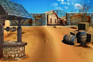 《你能逃离沙漠小镇吗》游戏画面1