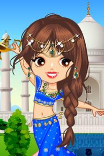 可爱印度公主