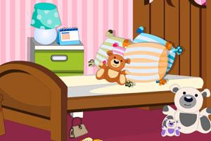 《女孩卧室找物品》游戏画面1