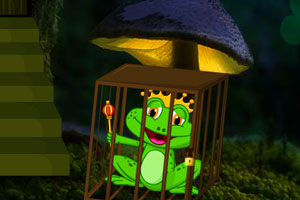 《蟾蜍王逃脱》游戏画面1