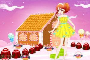 《可爱女孩的糖果小屋》游戏画面2