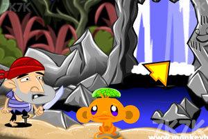 《逗小猴开心洞穴探险》游戏画面1