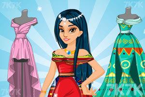 《公主设计舞会裙子》截图2
