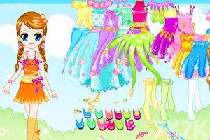《夏天的可爱女孩子》游戏画面2