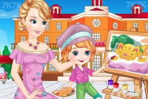 《母女的画画时光》游戏画面3