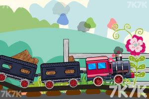 《装卸运煤火车6无敌版》游戏画面6