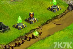 《星際塔防戰中文版》游戲畫面6