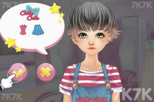 《时髦的服装店》游戏画面2