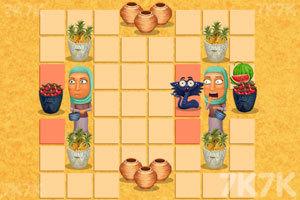 《饥饿的小蛇》游戏画面3