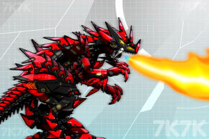 《组装究极霸王龙》游戏画面2