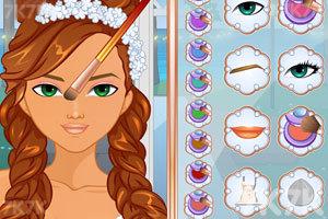 《婚礼的时尚发型》游戏画面3