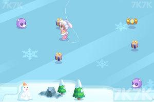 《奥比雪地滑冰》游戏画面1