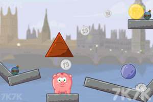 《吃金币的小猪》游戏画面2