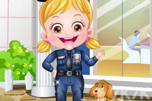 《可爱宝贝保安装扮》游戏画面2