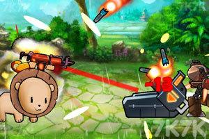 《特种兵与动物》游戏画面1