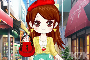 《小颖的可爱包包装扮》游戏画面1