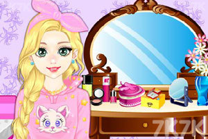 《居家女孩的梳妆台》游戏画面1