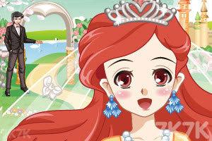 《王子和人鱼公主的婚礼》游戏画面1
