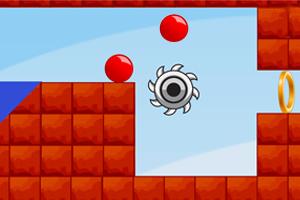 《红色弹球》游戏画面1