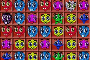 《笑脸宝石对对碰》游戏画面1