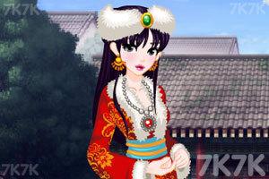 《可爱的古风少女》游戏画面3