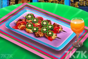 《香脆的烤鸡肉》游戏画面1