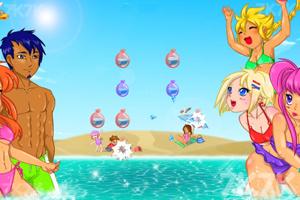 《夏日泡泡》游戏画面2