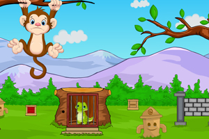 《拯救鳄鱼宝宝》游戏画面1