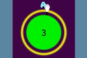 《字母表时钟》游戏画面1
