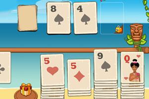 《纸牌接龙大挑战》游戏画面1