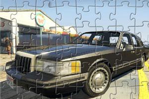 林肯城市轿车拼图